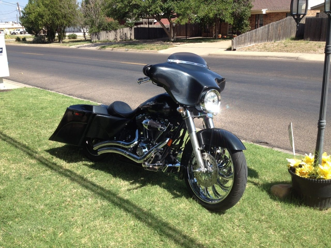 Harley Davidson 6 Extended Stretched Out Down Saddlebags No Lids 2017 2018 Model Style Bags Cut Outs