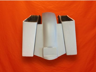 Harley-Davidson-4-Extended-Stretched-Saddlebags-No-CutOuts-Replacement-Fender-89–08