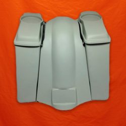 Harley-Davidson-4-inch-Extended Saddlebags-6x9-Speaker-Lids-and-Fender-no-cutouts