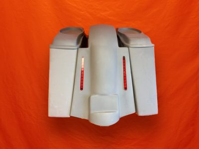 Harley-Davidson-4-inch-Extended-Stretched-Saddlebags-No-CutOuts-with-6x9-Speaker-Lids-and-Replacement-LED-Fender-09–13