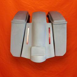 Harley-Davidson-5-Extended-Saddlebags-No-CutOuts-Replacement-LED-Fender-and-lids-09–13
