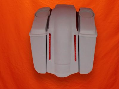 Harley-Davidson-5-Extended-Stretched-Saddlebags-NO-CutOuts-6x9-Speaker-Lids-and-LED-Fender-2