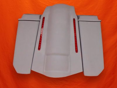 Harley-Davidson-5-Extended-Stretched-Saddlebags-NO-CutOuts-6x9-Speaker-Lids-and-LED-Fender-3