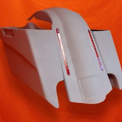 Harley-Davidson-5-Extended-Stretched-Saddlebags-with-CutOuts-and-LED-Fender-NO-Lids