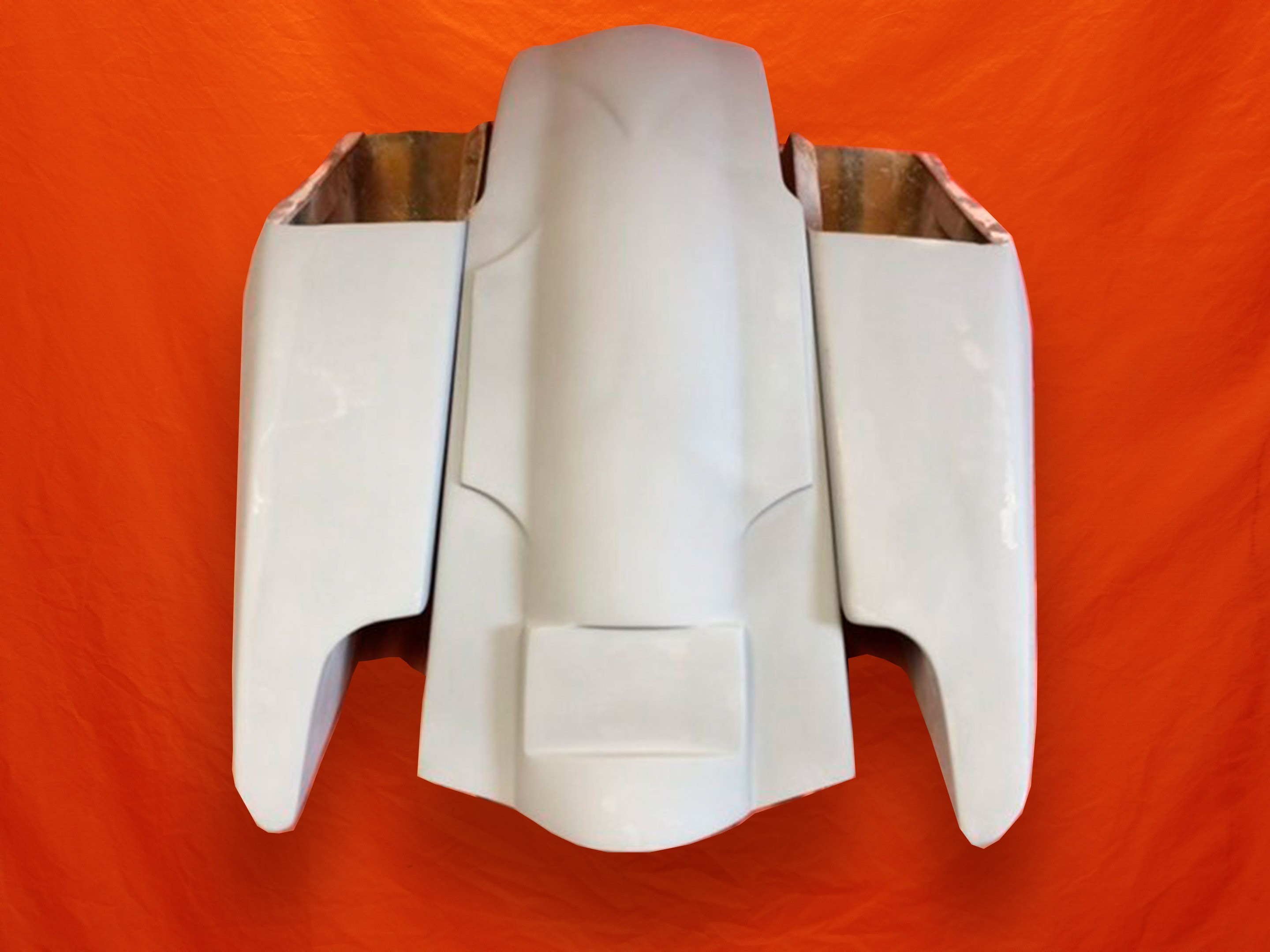 Harley-Davidson-5-Fifty-Five-Extended-Stretched-Saddlebag-Dual-CutOuts-and-Fender-Kit-No Lids