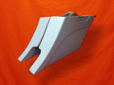 Harley-Davidson-6-Extended-Stretched-Saddlebags-Out&Down-Dual-CutOuts-No-Lids