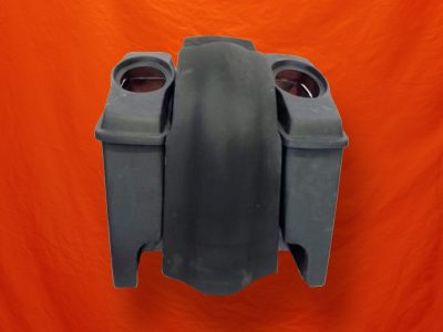 Harley-Davidson-6-Stretched-saddlebags-with-Dual-CutOut-and-6-5-inch-Speaker-Lids No Cut Fender