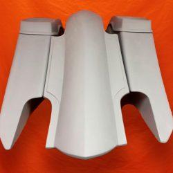Harley-Davidson-6-Trendsetter-Extended-Saddlebag-Fender-Kit-Dual-CutOuts-Dual-6-5-inch-Speaker-Lids-2014