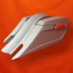 Harley-Davidson-6-Trendsetter-Extended-Saddlebag-Fender-Kit-Dual-CutOuts-and-Lids