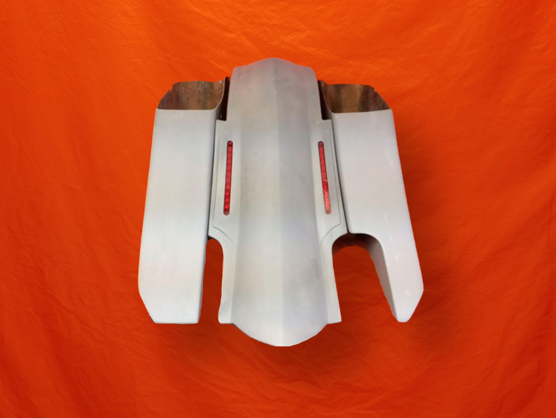 Harley-Davidson-6-Trendsetter-Extended-Saddlebag-LED-Fender-Kit-Right-side-CutOut-No-Lids