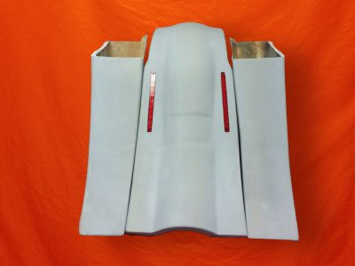 Harley-Davidson-8-Extended-Stretched-Saddlebags-no-CutOuts-No-Lids-LED-Fender