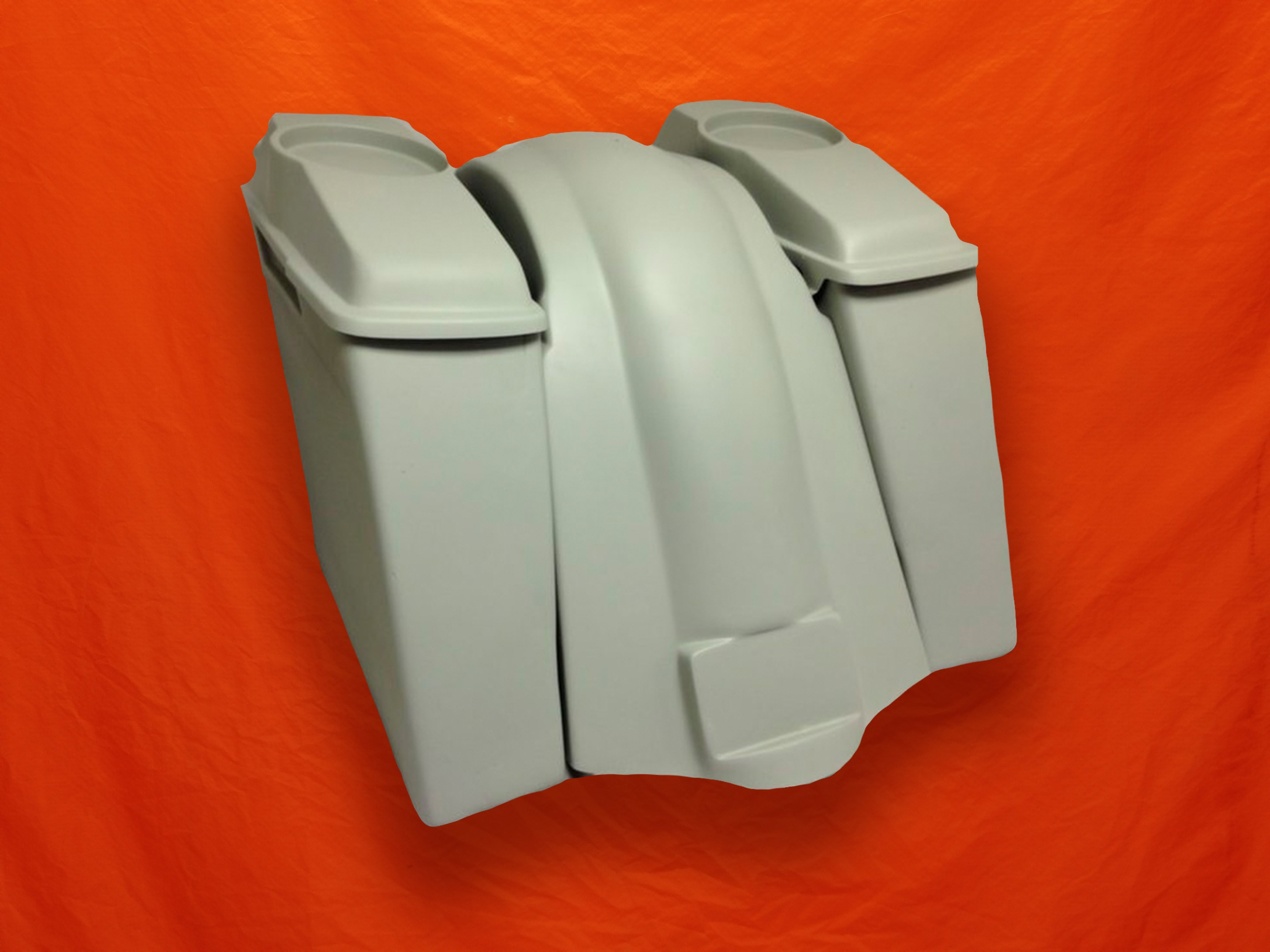 Harley Davidson Extended Stretched Saddlebags With Lids And