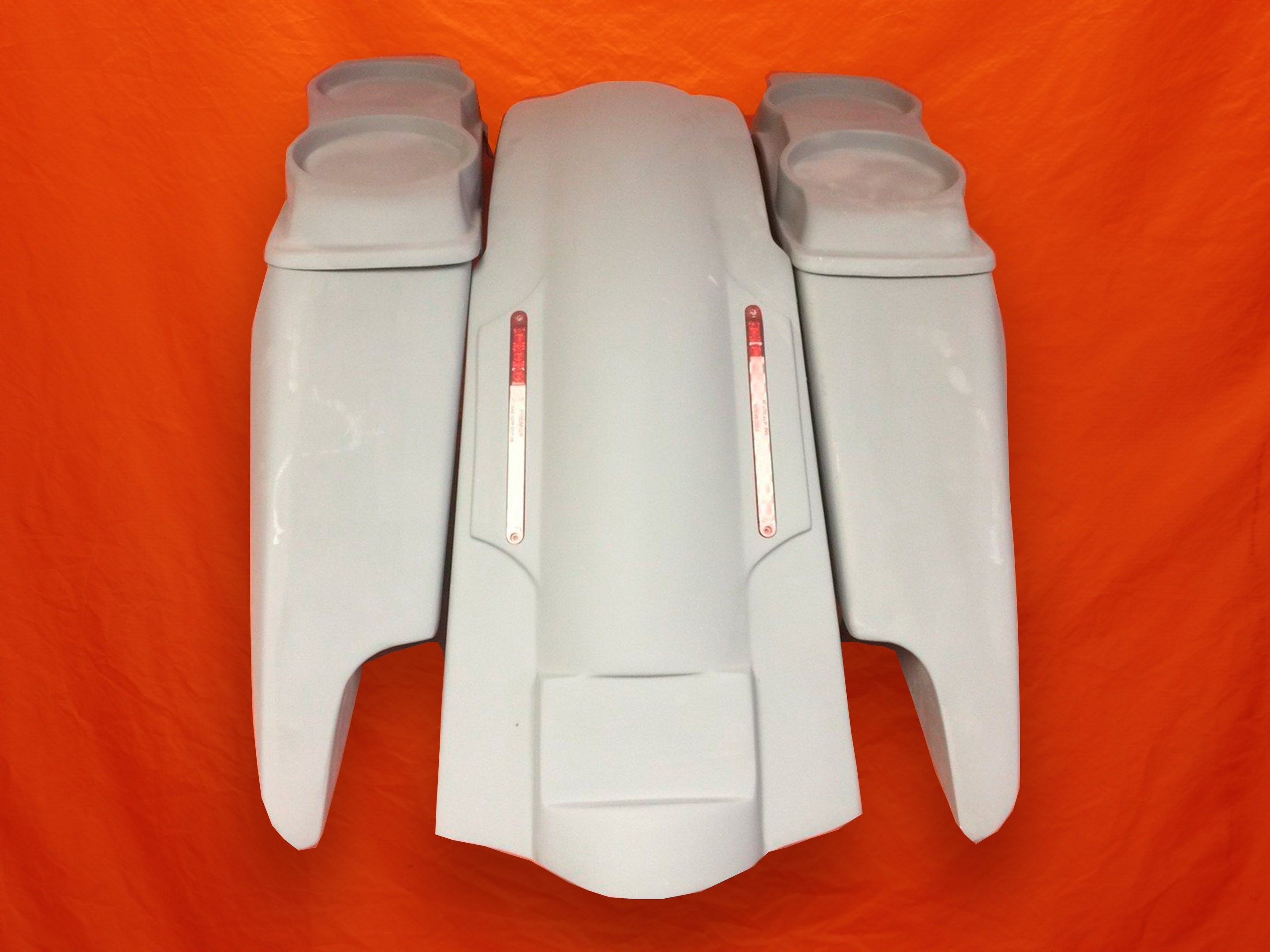 Harley-Davidson-Fifty-Five-Extended-Stretched-Saddlebags-Dual-CutOuts-Dual-6-5-inch-Lids-LED-Fender-Kit