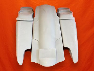 Harley-Davidson-Fifty-Five-Extended-Stretched-Saddlebags-Dual-CutOuts-Dual-6-5-inch-Speaker-Lids-Fender-Kit