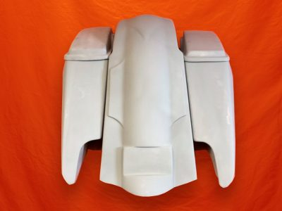 Harley-Davidson-Fifty-Five-Extended-Stretched-Saddlebags-Dual-CutOuts-Lids-and-Fender-Kit