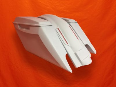 Harley-Davidson-Fifty-Five-Extended-Stretched-Saddlebags-Dual-CutOuts-Lids-LED-Fender-Kit-2