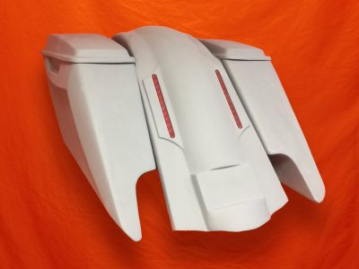 Harley-Davidson-Fifty-Five-Extended-Stretched-Saddlebags-Dual-CutOuts-Lids-LED-Fender-Kit-3