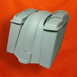 Harley-Davidson-Touring-6-Extended-Saddlebags-Dual-6x9-Speaker-Lids-Fender-No-Cutouts-2