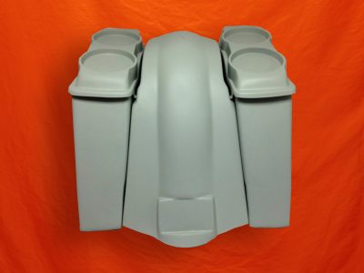 Harley-Davidson-Touring-6-Extended-Saddlebags-Dual-6x9-Speaker-Lids-Fender-No-Cutouts