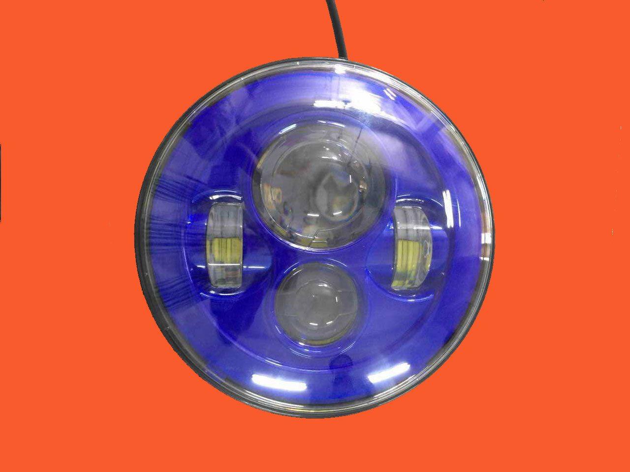 Led Headlight Bulbs In Projector Rectangular H4651 Led