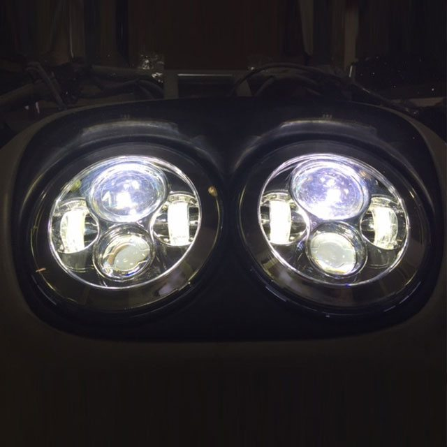 Dual 7 Daymaker 2014 2018 Hid Led Replacement Road