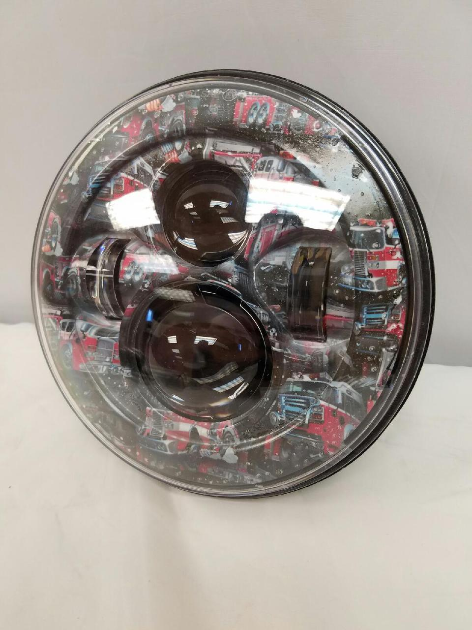 7 Daymaker Replacement Fire Trucks Design Projector Hid -7651
