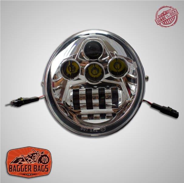 Harley Davidson Vrod V Rod Vrsc Led Daymaker Headlight
