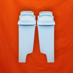 Harley-Davidson-4-Extended-Stretched-Saddlebags-Dual-6x9-Speaker-Lids-with-cutouts