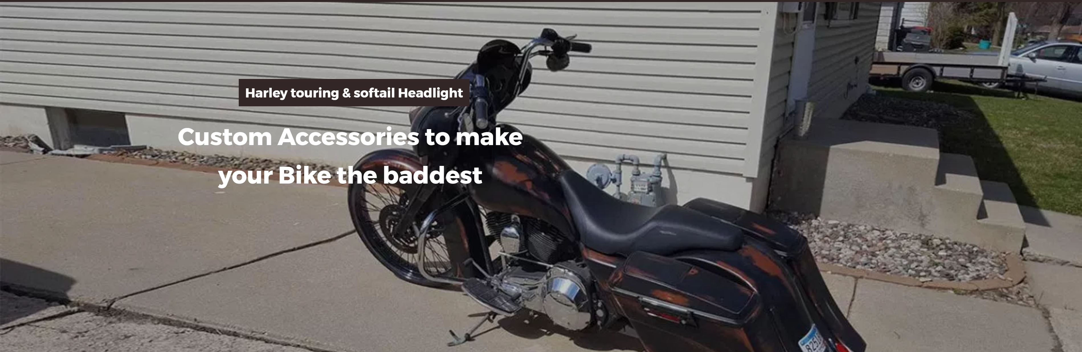 home baggers bags extended stretched saddlebags harley