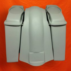 Harley-Davidson-Touring-6-Extended-Saddlebags-6-5-inch-Speaker-Lids-Fender-No-Cutouts