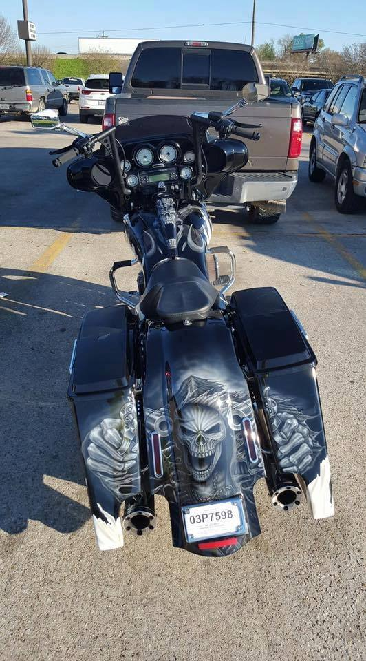 Harley Davidson Saddlebags: Extended Stretched Saddlebags