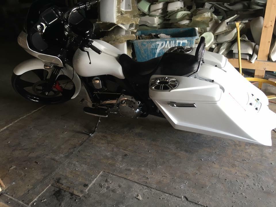 Trendsetter Saddlebag Kit Sale For Harley Touring Bikes