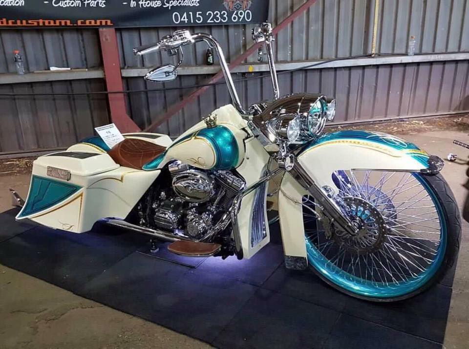 Bagger Stretch Kit: Suzuki M109r Full Stretched Out Bagger