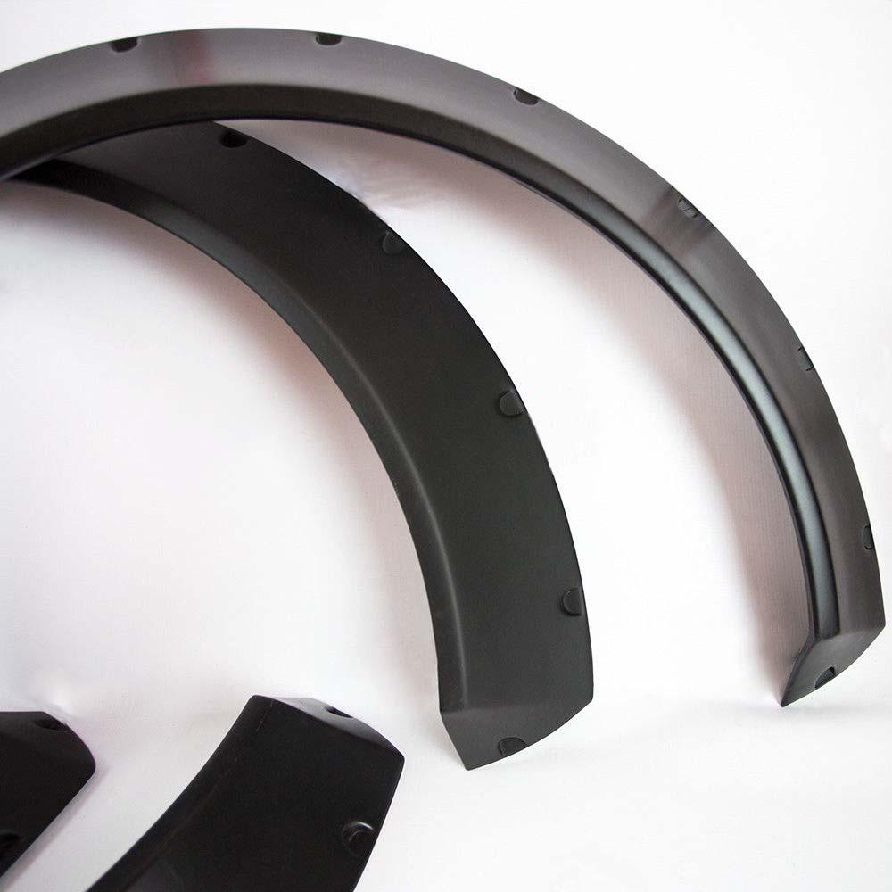 "JDM Fender Flares Universal NEW School Wheel arch SET 2.75/"" wide 2 pieces"